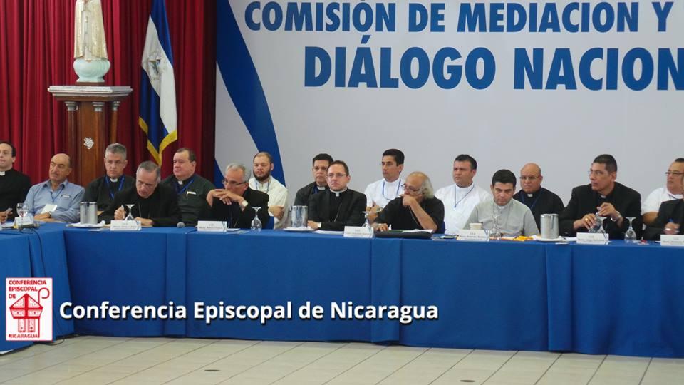 Mesa de diálogo / Conferencia Episcopal de Nicaragua