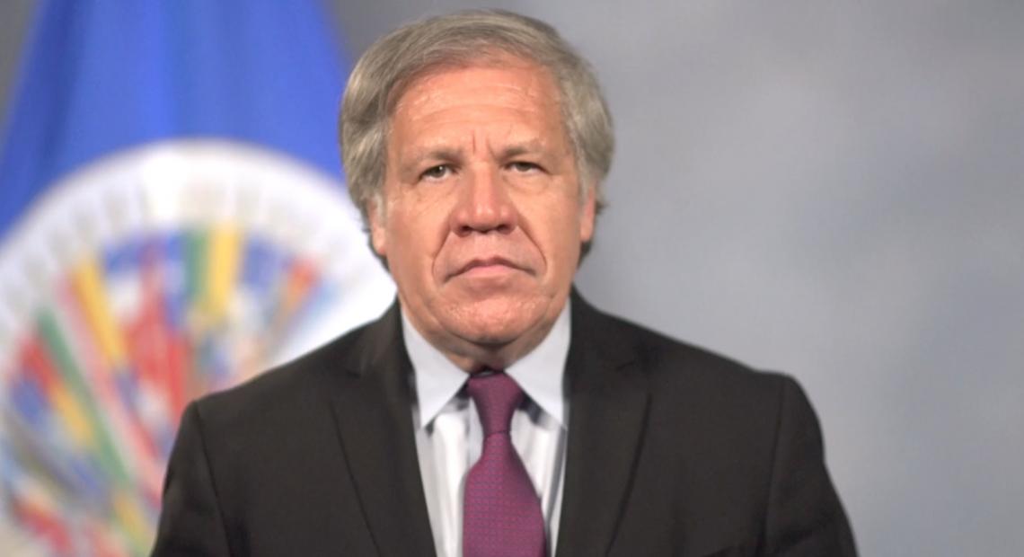 Luis Almagro, secretario general de la Organización de Estados Americanos, OEA
