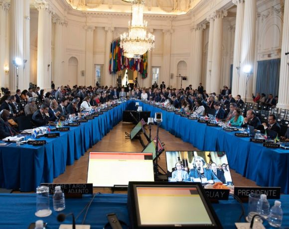 Asamblea General de la Organización de Estados Americanos (OEA), en Washington / Foto: OEA