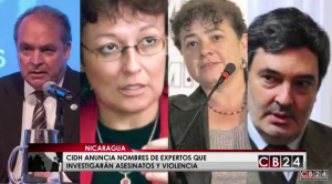 Grupo Interdisciplinario de Expertos Independientes (GIEI): Amérigo Incalcaterra, Sofía Macher, Claudia Paz y Paz y Pablo Parenti